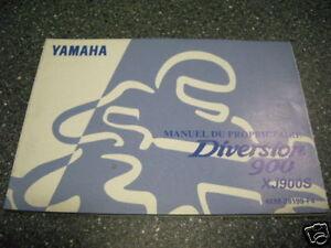 Fahrerhandbuch Betriebsanleitung Handleiding Yamaha XJ 900 4KM