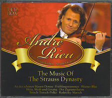 ANDRE RIEU - THE MUSIC OF THE STRAUSS DYNASTY - MINT IMPORT 3 CD BOX SET