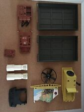 GI Joe Adventure Team Mobile Support Command Vehicle Parts And Jet Pack 1970's