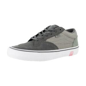 """Vans """"Rowan Pro"""" Sneakers (Granite/Rock) Skate Shoes"""