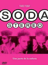 SODA STEREO 1983-1997 Una Parte De La Euforia Brand New Dvd