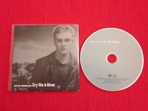CD SINGLE JUSTIN TIMBERLAKE CRY ME A RIVER 2002