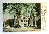 C. 1907 Saratoga Springs New York The Carlsbad Undivided Back Postcard