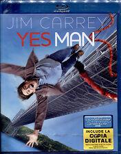 YES MAN (Jim Carrey) - BLU RAY NUOVO E SIGILLATO, PRIMA STAMPA, NO IMPORT