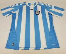 Men's Argentina Afa Authentic Adidas Climacool Soccer Jersey Size Xl