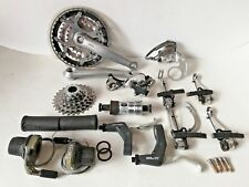 Vintage retro Shimano Deore XT M739 group groupset 24 speed