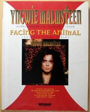YNGWIE MALMSTEEN FACING THE ANIMAL JAPAN BAND SCORE GUITAR TAB