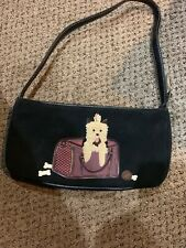 Womens Small Hand Bag With A Dog Infront