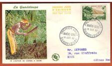 1957 - ENVELOPPE.FDC 1° JOUR - Rivière Sens -OBL.Guadeloupe-8f - Timbre -Yt.1125