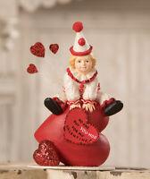 Bethany Lowe Designs: Valentine's Day; Yoo Hoo Valentine Clown, item# TD9001
