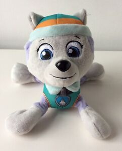 """Spinmaster Paw Patrol 'Everest' 8"""" Plush 2015 Great Condition"""