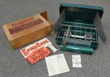 Vintage Kamp Kook Gas Camping Stove with Orginal Box L@@K!