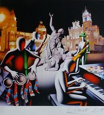 MARK KOSTABI The first set was in stone 41/50 HAND SIGNED URBAN ART US ARTIST
