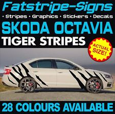 SKODA OCTAVIA TIGER STRIPES GRAPHICS STICKERS DECALS 1.6 1.8 2.0 230 VRS TDI RS