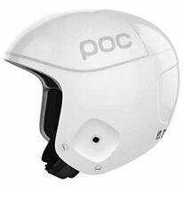 POC Skull Orbic X SPIN Ski Racing Helmet Hydrogen White Small 53/54 NEW