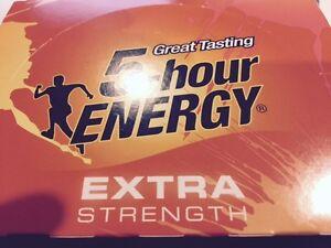 5 Hour Energy Extra Strength Mango Peach 12 ct Shots 1.93 oz Sugar Free