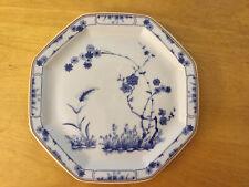 "Haviland Limoges JARDIN BLEU 8-Sided Bread Plate, Blue Flowers 6 3/8"" NEW"