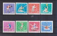 Ungarn 1970 postfrisch MiNr. 2616B-2623B  75 Jahre Ungarisches Oly. Komitee