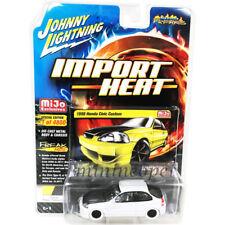 JOHHNY LIGHTNING JLCP7174 1998 HONDA CIVIC CUSTOM 1/64 DIECAST WHITE Chase
