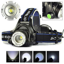 9000 Lumens CREE T6 LED Rechargeable Head Torch Headlamp Lamp Fishing Light