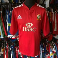 BRITISH LIONS 2009 HOME UNION RUGBY SHIRT ADIDAS JERSEY SIZE ADULT 2XL