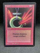 Shatter Beta HEAVILY PLD Red Common MAGIC THE GATHERING MTG CARD ABUGames