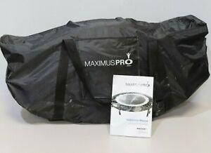 MaXimus Pro Folding Rebounder Mini-Trampoline Home Fitness 140kgs + Bag - 232