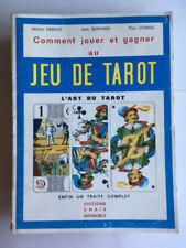 COMMENT JOUER ET GAGNER AU JEU DE TAROT ART TRAITE COMPLET 1977