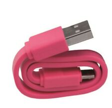 Tekmee Candy Cable Android Charge & Synchronize Micro USB Phone Tablet PINK