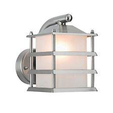 Powermaster Mini Grill Wall Lantern Stainless Steel