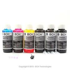 Premium Bulk Refill Ink 600 ml (20oz) - Pigment Black + Photo Dye Color for HP