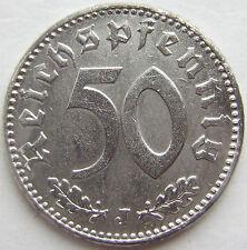 alto! 50 REICHSPFENNIG 1943 J in ECCELLENTE + RARI