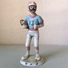 "Flambro Clown Collection ""Football Player #13"" Figurine By Emmett Kelly Jr."