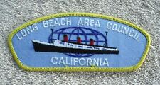 Boy Scout Long Beach Area Council Patch NEW CSP California Queen Mary CA