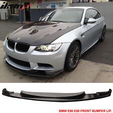 Fits 08-13 BMW E92 E90 M3 H-Style Urethane Front Bumper Lip Spoiler PU