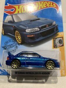Hot Wheels 98 Subaru Impreza 22b Sti-version Blue SEALED UNOPENED HTF !!!!!!