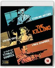 The Killing + Killer's Kiss [Blu-ray] [DVD][Region 2]