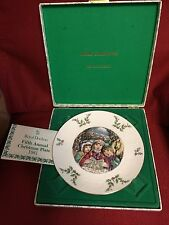 1981 Royal Doulton Christmas Plate - 5th in Series - Mint in Box