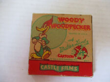 Vintage Woody Woodpecker Original Box 499 Sleep Happy Castle Films 8mm