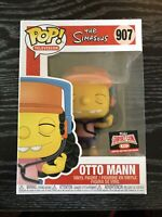 Funko POP! The Simpsons: OTTO MAN TARGET Con EXCLUSIVE (IN HAND)