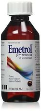 Emetrol For Nausea & Upset Stomach Cherry Flavor Size 4oz