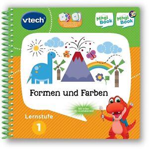 577276-C Vtech® Buch »MagiBook Lernstufe 1 - Farben und Formen« *NEU*