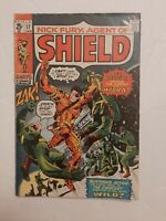 NICK FURY, AGENT OF SHIELD # 17 Jack Kirby & Stan Lee Marvel Comics 1970