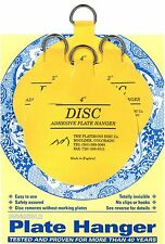 "Original Invisible Disc Adhesive Plate Hangers Set of 2x3"" and 2x4"""
