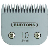 Burtons Blades - Size 10 10FC 10F - Fits Andis, Wahl, Oster, A5