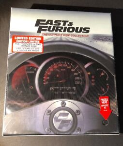 Fast and Furious The Ultimate Ride Collection [ 7-Movie Box Set ] (DVD) NEW