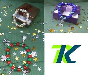 Christmas bracelets love gift from RKBajor Di Lauro's bling corner
