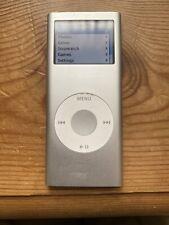 Ipod Nano 4gb Silver