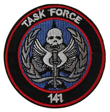"Call of Duty Task Force 141 Embroidered 3"" Diameter Patch"