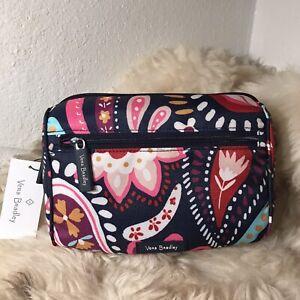 NWT Vera Bradley Lighten Up Belt Bag - Painted Paisley Print
